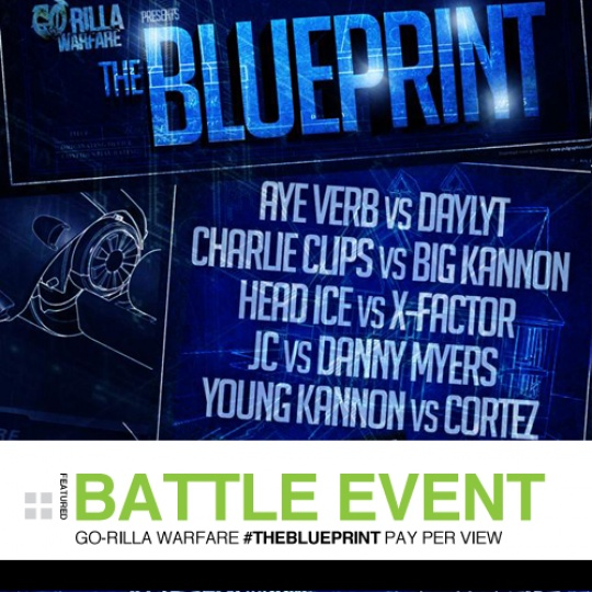 "THE BLUEPRINT ON ""THE BLUEPRINT"" (A GO-RILLA WARFARE EVENT REVIEW)"