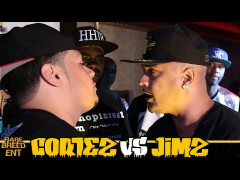 CORTEZ VS JIMZ FULL RAP BATTLE - RBE